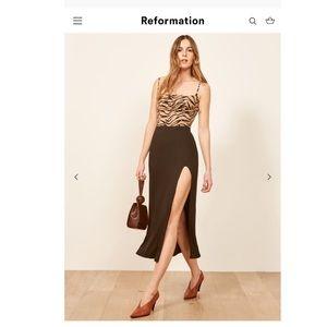 *Final price Reformation skirt